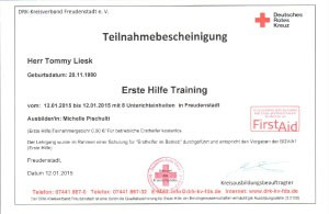 Erste Hilfe Training-10