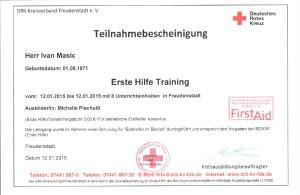 Erste Hilfe Training-11