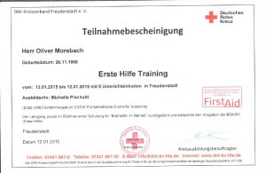 Erste Hilfe Training-12