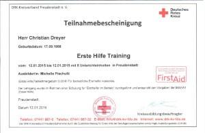Erste Hilfe Training-14