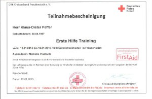 Erste Hilfe Training-2