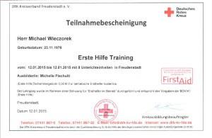 Erste Hilfe Training-6