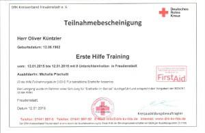 Erste Hilfe Training-8